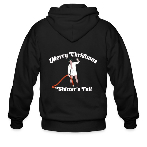 Cousin Eddie - Shitter's Full! - Men's Zip Hoodie