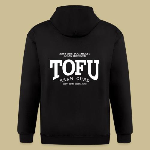 Tofu (white) - Men's Zip Hoodie