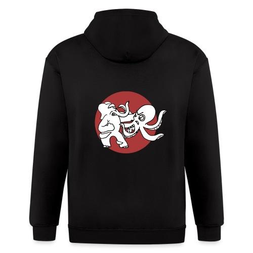 ElephantOctopusALT - Men's Zip Hoodie