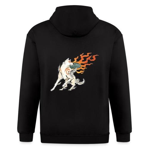 Fire wolf - Men's Zip Hoodie