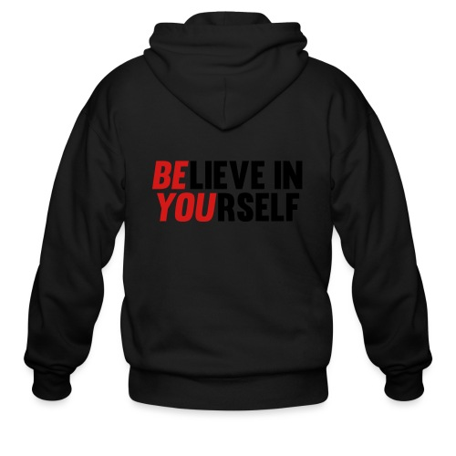 Believe in Yourself - Men's Zip Hoodie