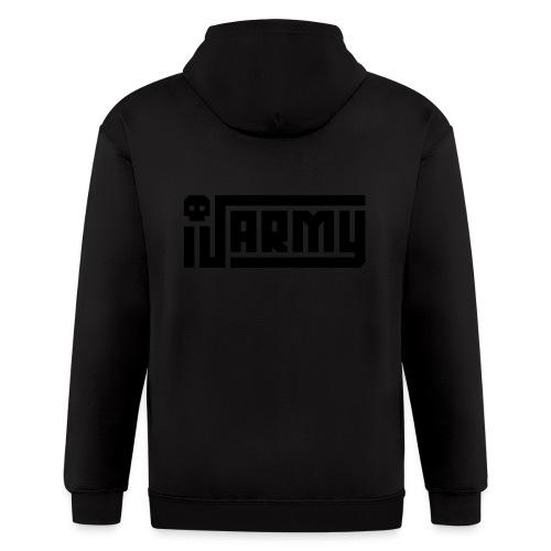 iJustine - iJ Army Logo - Men's Zip Hoodie