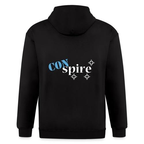 CONspire - Men's Zip Hoodie
