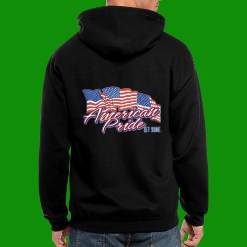 American Pride - Men's Zip Hoodie