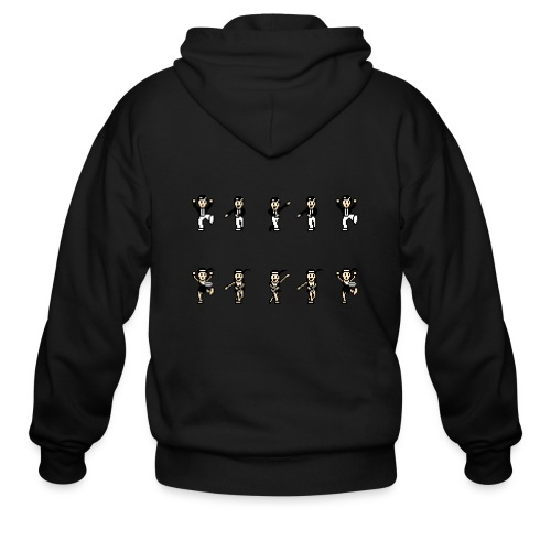 flappersshirt - Men's Zip Hoodie