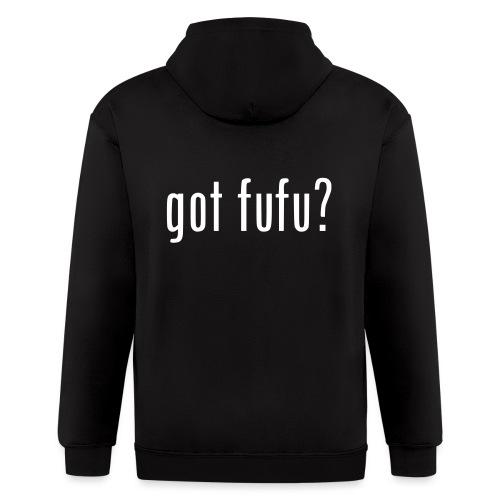 gotfufu-white - Men's Zip Hoodie