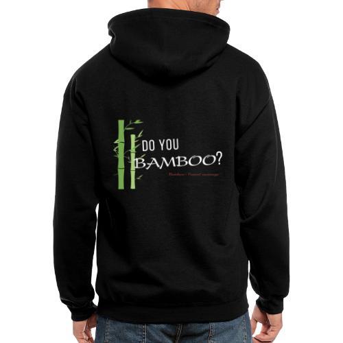 Do you Bamboo? - Men's Zip Hoodie