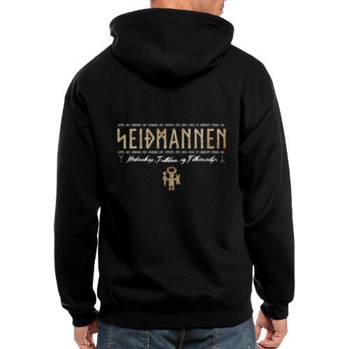 SEIÐMANNEN - Heathenry, Magic & Folktales - Men's Zip Hoodie