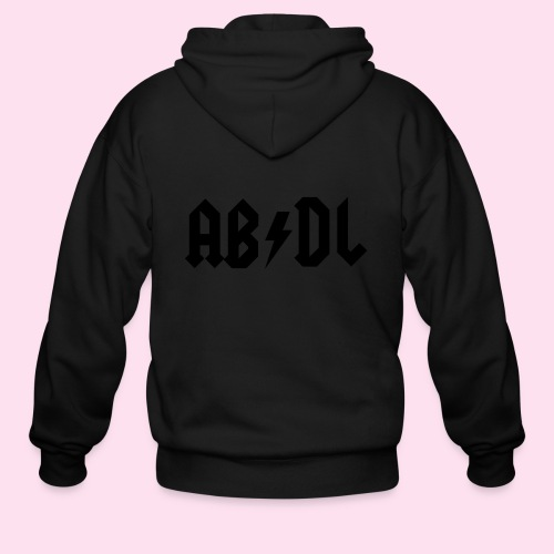 ABDL Rock - Men's Zip Hoodie