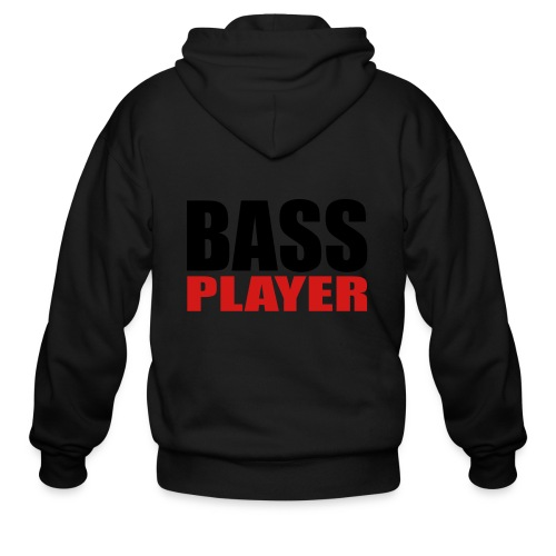 Bass Player - Men's Zip Hoodie