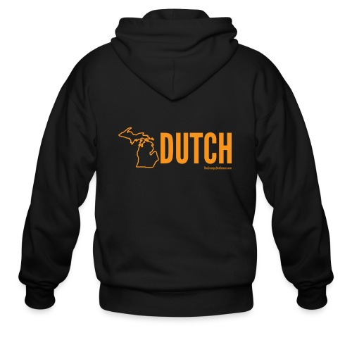 Michigan Dutch (orange) - Men's Zip Hoodie