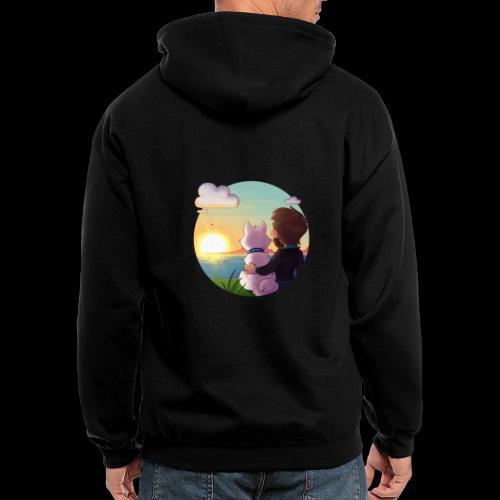 xBishop - Men's Zip Hoodie