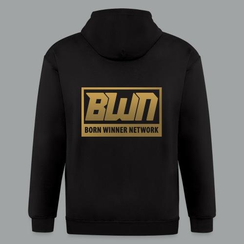 BWN (Gold) - Men's Zip Hoodie