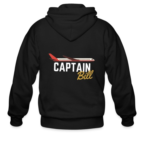 Captain Bill Avaition products - Men's Zip Hoodie