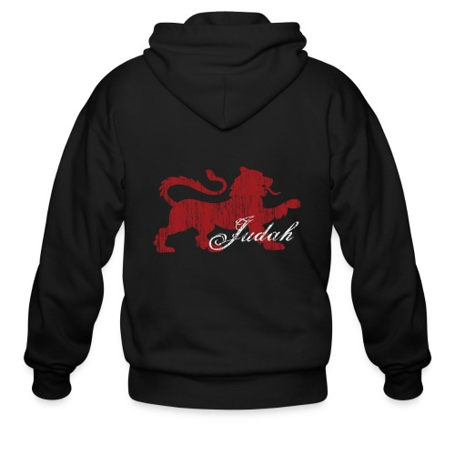 The Lion of Judah - Men's Zip Hoodie