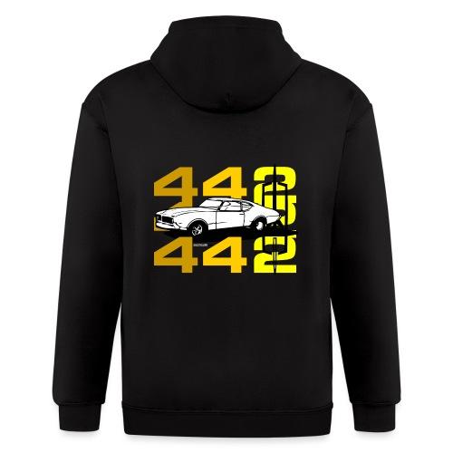 auto_oldsmobile_442_002a - Men's Zip Hoodie