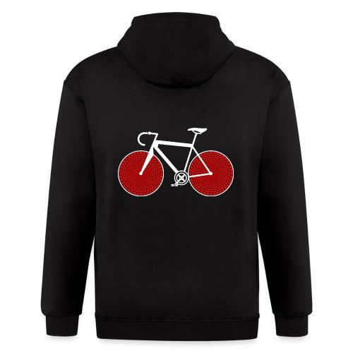 bike love - Men's Zip Hoodie