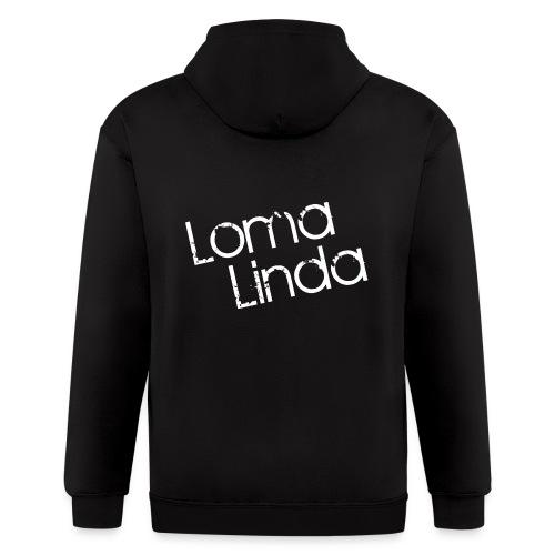 lomalinda white - Men's Zip Hoodie
