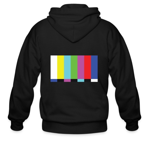 TV Test - Men's Zip Hoodie