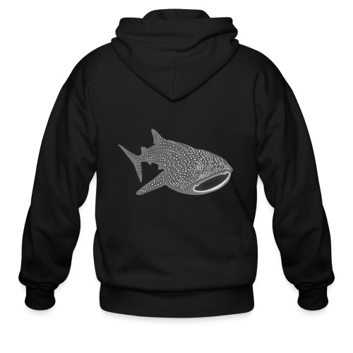 save the whale shark sharks fish dive diver diving - Men's Zip Hoodie
