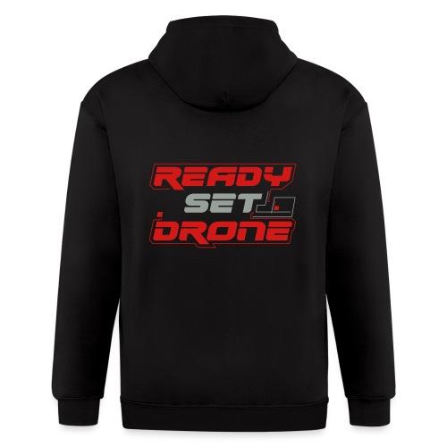 Ready Set Drone - Men's Zip Hoodie