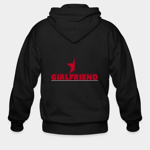 Half-Star Girlfriend - Men's Zip Hoodie
