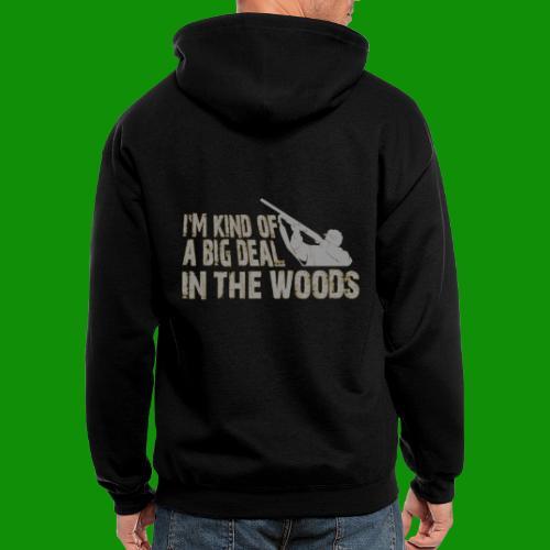 Big Deal in the Woods - Men's Zip Hoodie