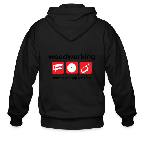 Woodworking - Men's Zip Hoodie