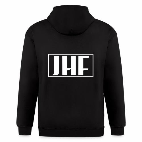 JHF logo 2 - Men's Zip Hoodie