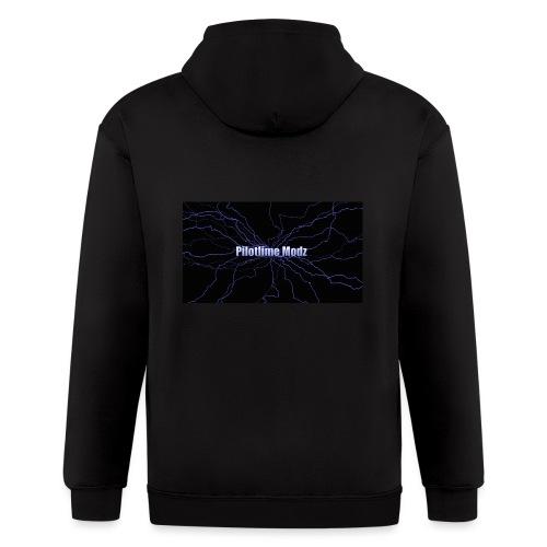 backgrounder - Men's Zip Hoodie