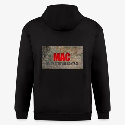 MAC LOGO - Men's Zip Hoodie