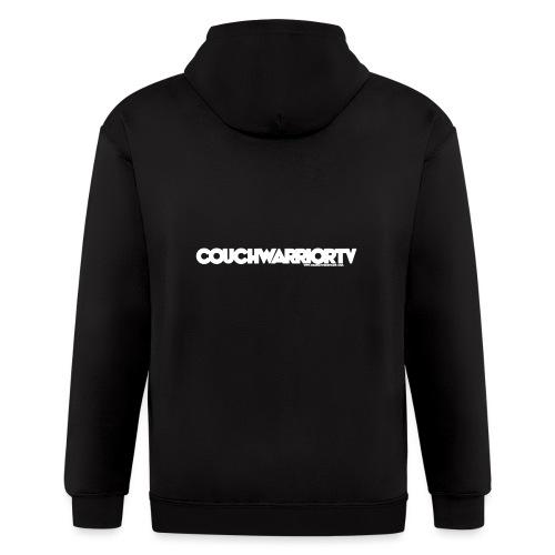COUCHWARRIORTV Logo Gear - Men's Zip Hoodie