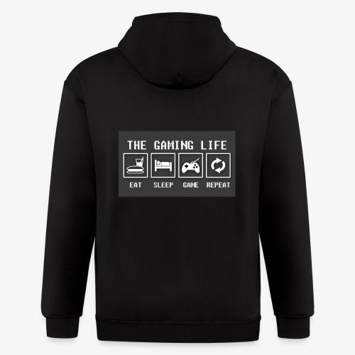 Gaming is life - Men's Zip Hoodie