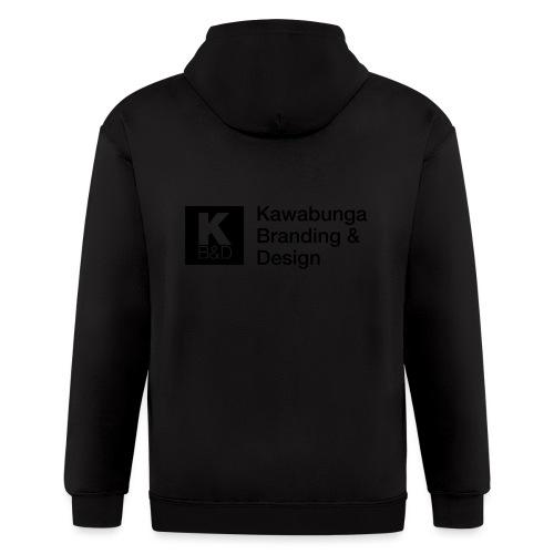 KBD signature - Men's Zip Hoodie
