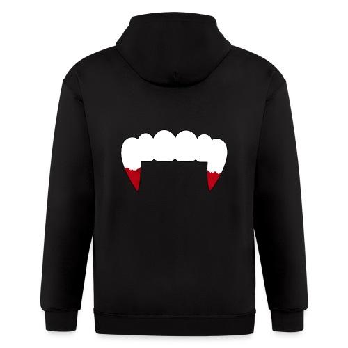 Vampire Fangs - Men's Zip Hoodie