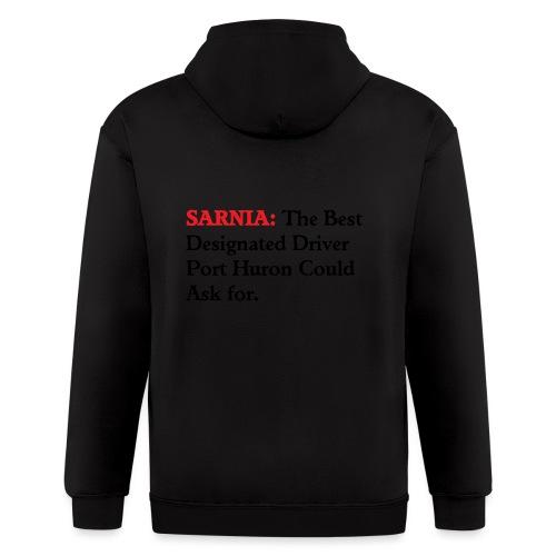 Sarnia: The Best Designated Driver - Float Down - Men's Zip Hoodie