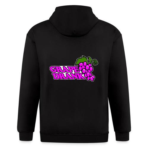 Grape Drank - Men's Zip Hoodie