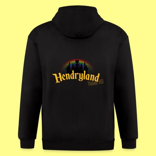HENDRYLAND logo Merch - Men's Zip Hoodie