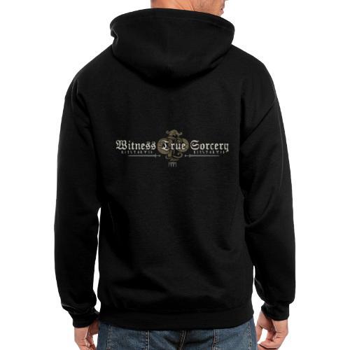 Witness True Sorcery Logo - Men's Zip Hoodie