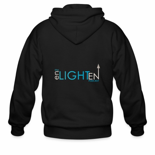 The enLIGHTenUP Podcast - Men's Zip Hoodie