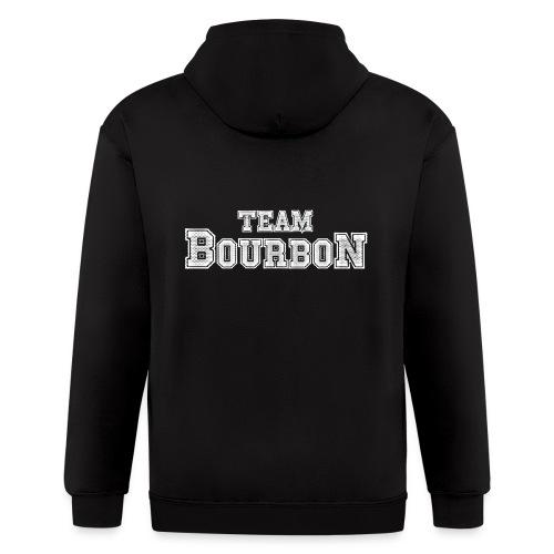 Team Bourbon - Men's Zip Hoodie