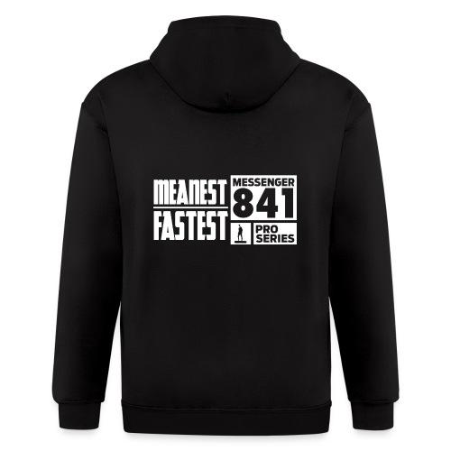 Messenger 841 Meanest and Fastest Crew Sweatshirt - Men's Zip Hoodie