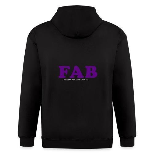 FAB Tank - Men's Zip Hoodie