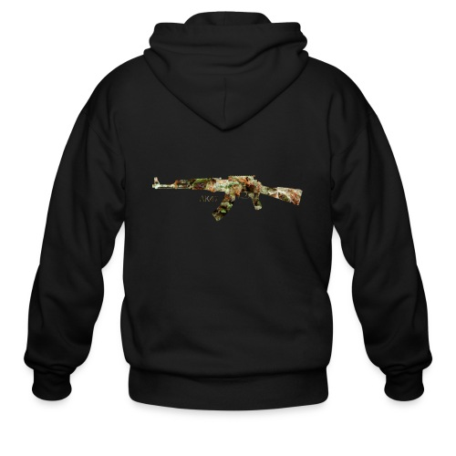 AK-47.png - Men's Zip Hoodie
