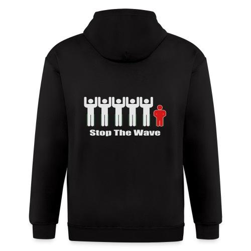 Men's Stop The Wave Logo T-Shirt - Men's Zip Hoodie