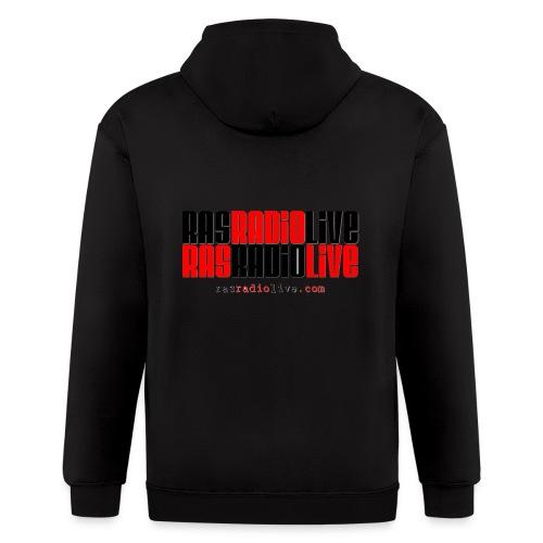rasradiolive png - Men's Zip Hoodie
