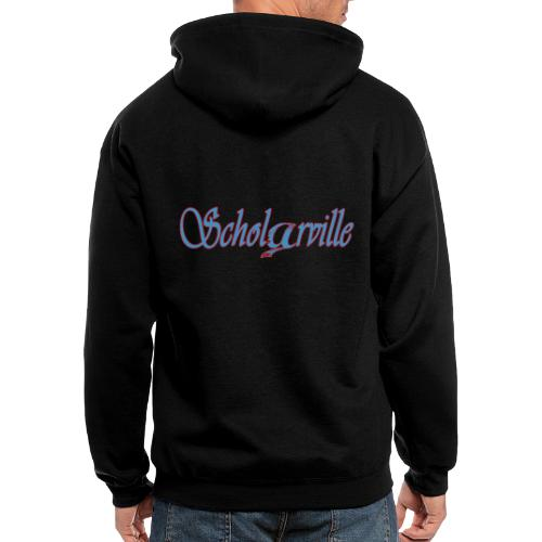 Welcome To Scholarville - Men's Zip Hoodie