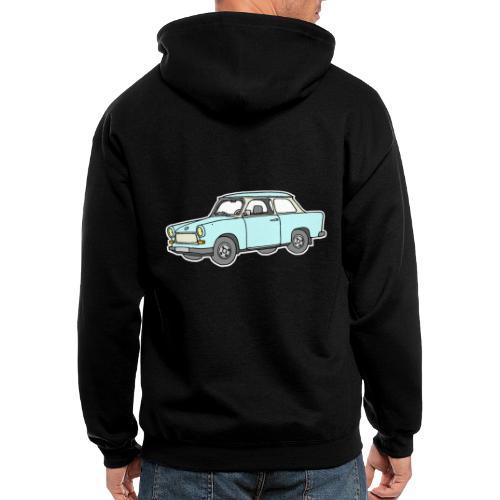 Trabant (lightblue) - Men's Zip Hoodie