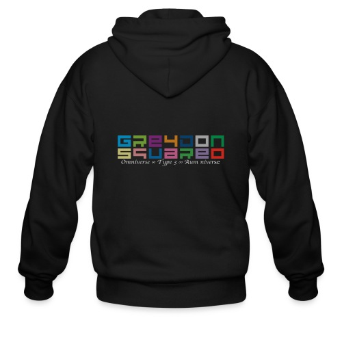 colorfulLOGO2 png - Men's Zip Hoodie