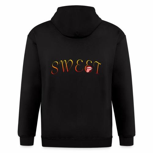 Sweet - Men's Zip Hoodie